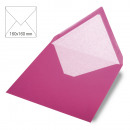 Envelope square, plain, FSC Mix Credit, pink, 5 S
