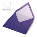 Square envelope, plain, FSC Mix Credit, purple,