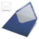 Envelope square, plain, FSC Mix Credit, royal blue