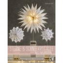 Libro: stelle + fiocchi di neve da sacchetti di ca