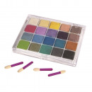Pastel chalks, 20 colors