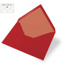 Envelope B6, plain, FSC Mix Credit, cardinal red,
