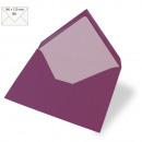 Envelope B6, plain, FSC Mix Credit, purple velvet,