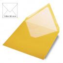 Envelope square, plain, FSC Mix Credit, sonnengel