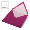 Envelope square, plain, FSC Mix Credit, red magma
