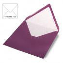 Envelope square, plain, FSC Mix Credit, purple ve