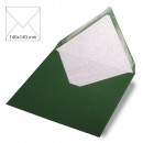 Envelope square, plain, FSC Mix Credit, pine green