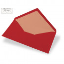 Envelope DIN Long, plain, FSC Mix Credit, cardinal