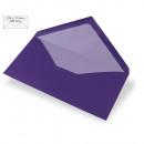 Envelope DIN long, plain, FSC Mix Credit, purple,
