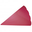 Schultüten aus Wellpappe, groß, rot,