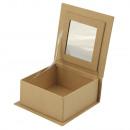 mayorista Joyeros - cajas y expositores joyas y bisutería: Caja de joyería de papel maché FSCRecycled100%,