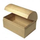 Papier-mâché box: chest FSC Recycled 100%,