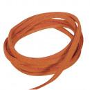 Micro suede, orange, 16 pieces