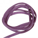 wholesale Artificial Flowers: Micro suede, lilac, 17 pieces