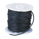 Cowhide belt, black, 25 m