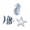 wholesale Gifts & Stationery: Polyresin scattering parts: sea animals, 9 ...
