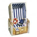 Polyresin strandstoel,