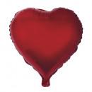 Corazón de globo de papel, rojo clásico, 1 pieza