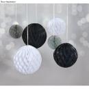 Bolas de panal para colgar, 6 piezas