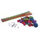 Chenille-Bastelset Candy, 1 Set
