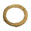 Straw wreath, super thin, nature, nature,