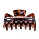 grossiste Soins des Cheveux: pince à cheveux léopard (6 pièces)