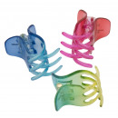hair clips 3 puas various colors (6 pieces)
