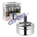 wholesale ashtray: Rotary ashtray ashtray chrome, small