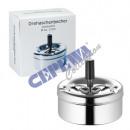 wholesale ashtray: Rotary ashtray ashtray chrome, large