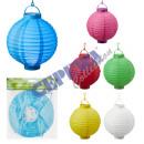 Papier LED Lantern, okrągłe, 20 cm