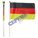 Staff Germany Flag 30x45cm