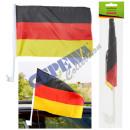 grossiste Cadeaux et papeterie: Allemagne Drapeau de voiture 45x30cm
