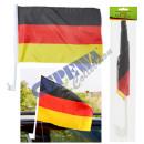 grossiste Cadeaux et papeterie: Allemagne Drapeau de voiture 20x30cm