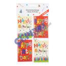 """grossiste Cartes de vœux: Étiquettes de  cadeau de  """"Happy ..."""