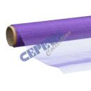 Ozdobna tkanina organzy 40x200cm, Purple