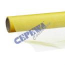 Ozdobna tkanina organzy 40x200cm, Żółty