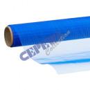 Ozdobna tkanina organzy 40x200cm, Dark Blue