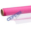 Dekoracyjne tkaniny Organza cm 40x200, różowe