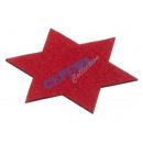Untersetzer   Stern , rot, S, 15 cm d