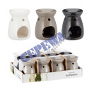 wholesale Fragrance Lamps: Oil burners, gr, 3x assorted 11cm