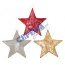 Sizal Star, 3x posortowane, XL, 60cm