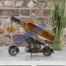 Weinflaschenhalter 'Motorrad'