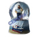 "grossiste Boules de neige: Snowglobe ,""Sailor"" environ 6 CMD"