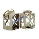 "wholesale Wind Lights & Lanterns: Lantern ;""natural"" 2-assorted, 30cm"