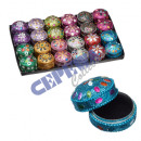 "wholesale Jewelry Storage: Jewelry box ,""Orient"" round, large, abou"