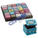 "wholesale Jewelry Storage: Jewelry box ,""Orient"" square, various De"