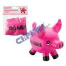 "Inflatable pig ""Good luck"""