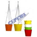 """grossiste Pots de fleurs & Vases: Planter m.Kette  """"Fleur de printemps"""""""