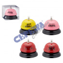 """Table bell """"ring for xx"""", sorted, 6cm"""