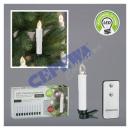 LED Christmas tree candle, set of 10
